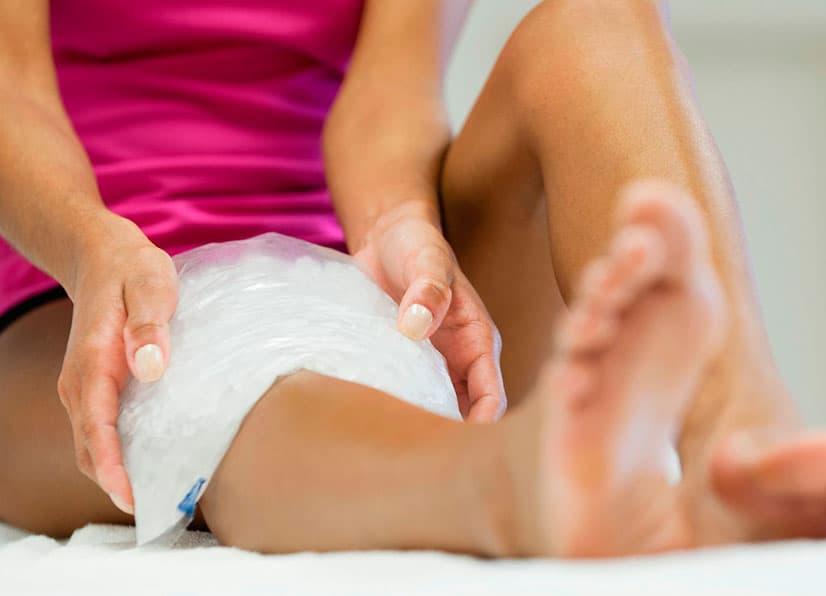 компресс на коленные суставы