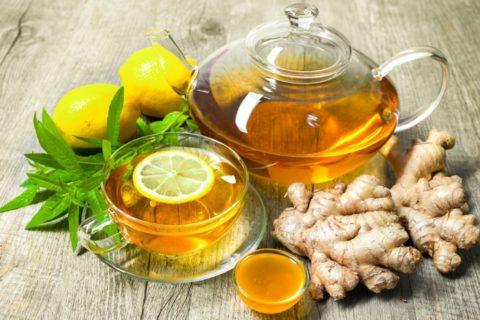 Ароматный имбирный чай является лечебным напитком.