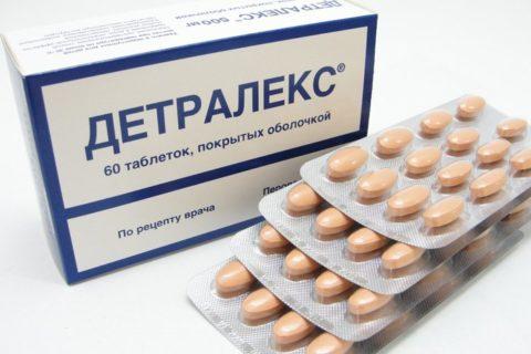 Фото. Один из самых популярных и эффективных препаратов Детралекс