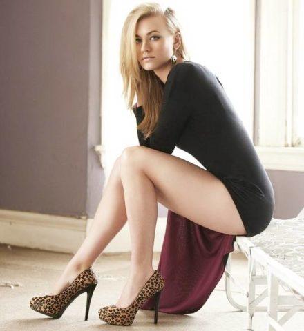 Красивые ноги всегда привлекают внимание