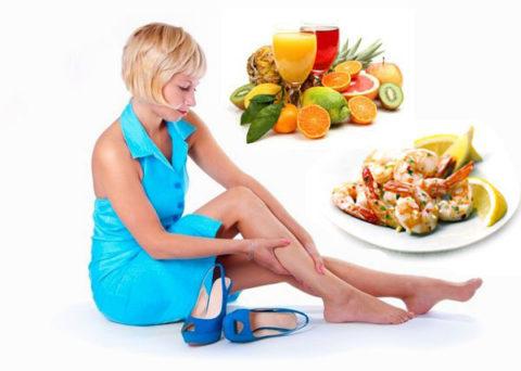 Питание очень важно при лечение недуга