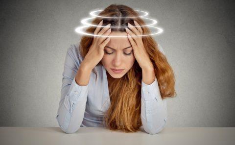 Головокружение – неприятный признак недостаточного кровоснабжения тканей мозга