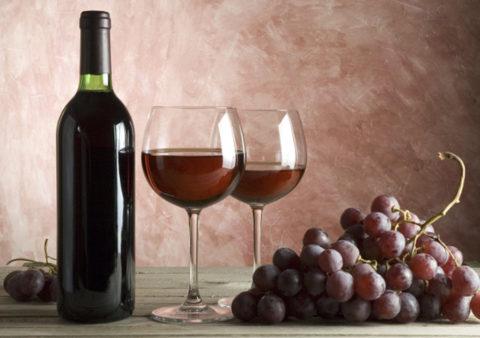 Красное виноградное зелье