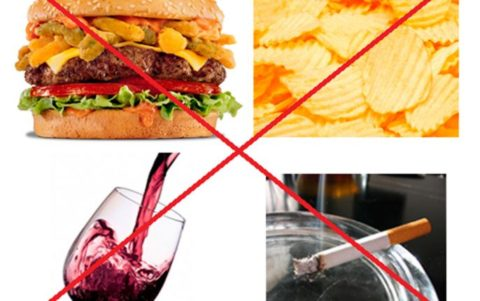 Неправильный образ жизни как одна из причин развития атеросклероза