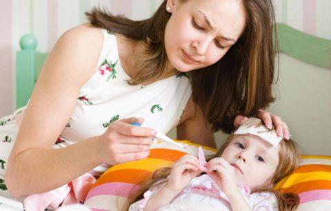 Ухудшение состояния крохи всегда вызывает обеспокоенность родителей.