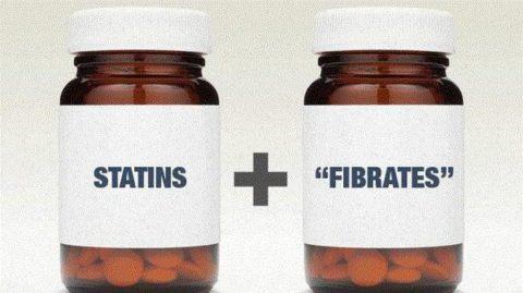 Статины и фибраты - медикаментозная основа очищения сосудов.