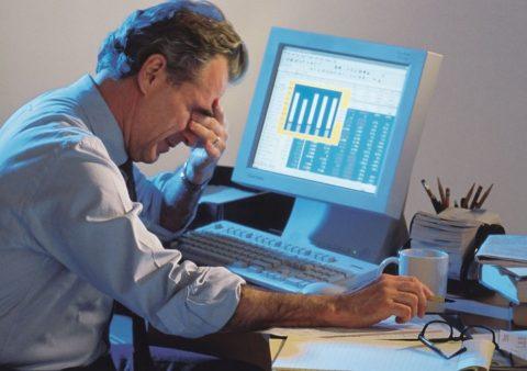 Гигиена зрения при работе за компьютером – залог здоровых сосудов глаз.
