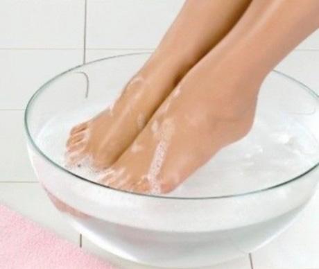 Холодная ванна для ног