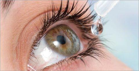 Использование искусственных слез – профилактика развития блефарита.