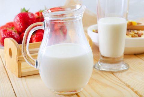Молочные продукты с низкой жирностью