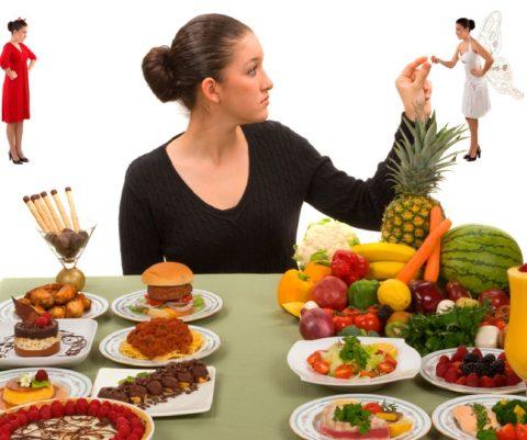 Начало снижения лишнего веса