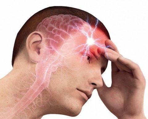 Возможно, голова болит из-за плохого кровоснабжения нервных тканей