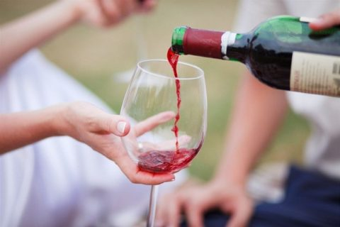 Умеренное потребление алкоголя