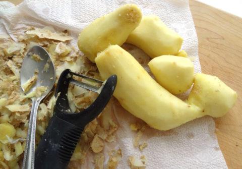 Как правильно подготовить корень имбиря.