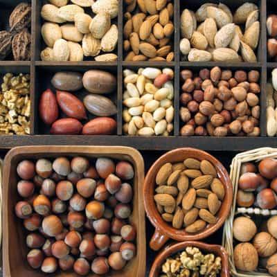 Орехи (фундук, грецкие, кедровые)