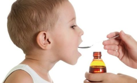 Прием лекарств у ребенка