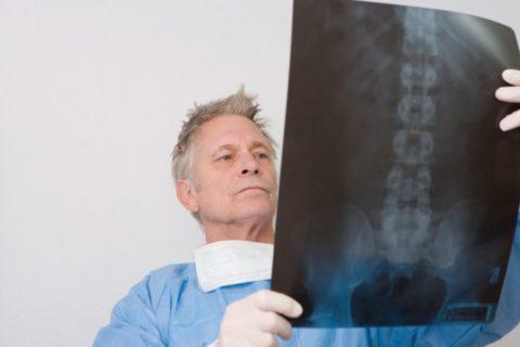 Большое значение в диагностике имеют рентгеновские методы