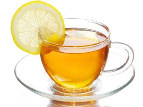 Чай с лимоном - отличное тонизирующее средство