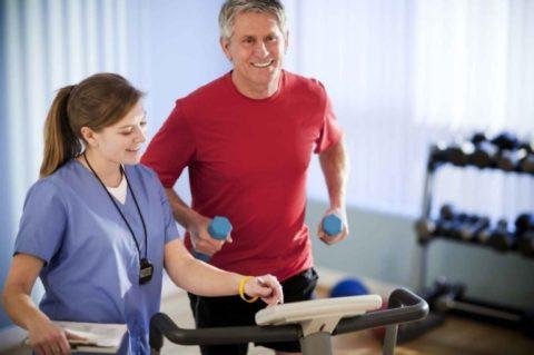 Физические упражнения для реабилитации