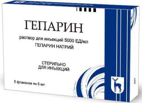 Гепарин – самый известный антикоагулянт