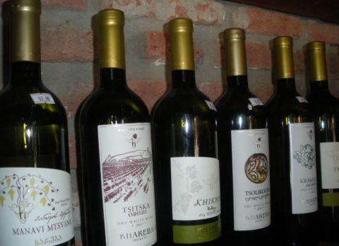 Грузинские красные сухие вина