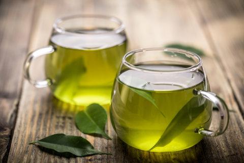 Качественный зеленый чай как лучший антиоксидант.