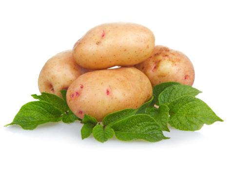 Картофель (на фото) устранит лопнувшие сосуды и окажет омолаживающее воздействие.