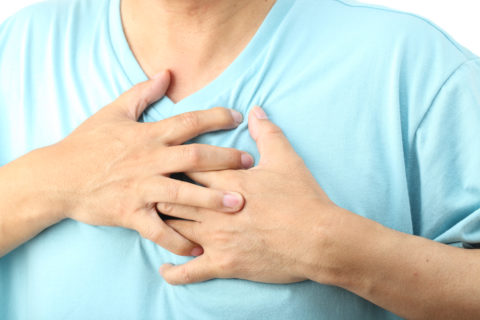 Одна из причин инфаркта миокарда