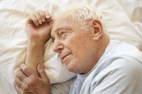 Нарушение сна при сосудистой энцефалопатии.
