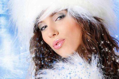 Одна из причин патологии – внешние факторы: снег и холод.