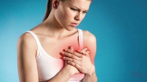 Острая боль в сердце - повод отложить тренировку.