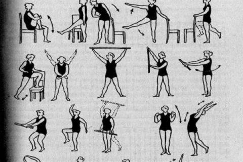 При возникновении спазмов рекомендуется выполнять упражнения