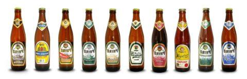 Сорта бутылочного пива