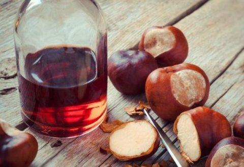 Спиртовая настойка из плодов каштана