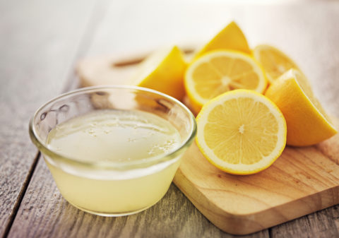 Свежевыжатый лимонный сок