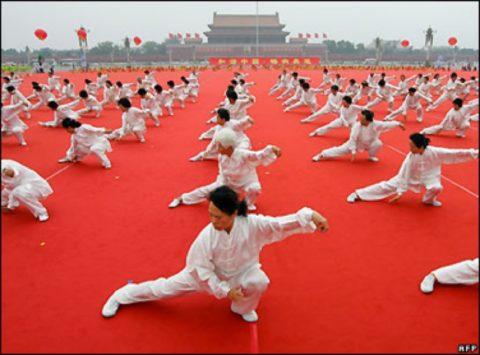 Упражнения китайской гимнастики для сердца и сосудов.