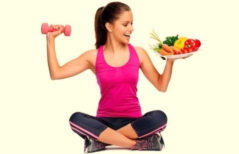 Диета и физические нагрузки могут стать основой восстановления.