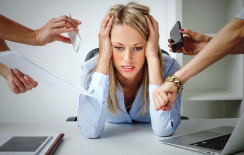 Постоянный стресс – одна из форм хронических расстройств психики
