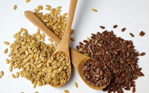 Семена льна собранные в разное время