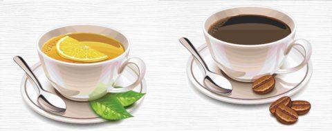 Кофе и чай с ароматизаторами или отдушкой