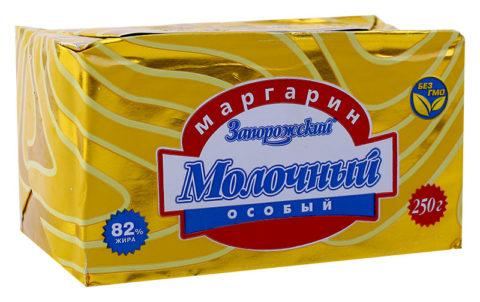 Маргарин, масляные спреды и подобные продукты