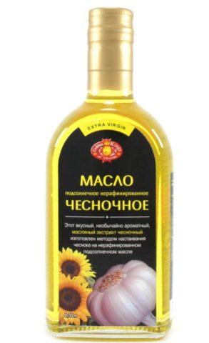 Промышленная упаковка чесночного масла