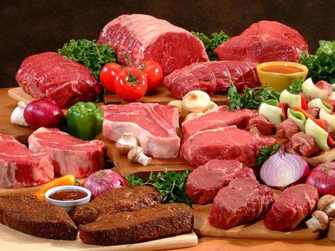 Мясное ассорти