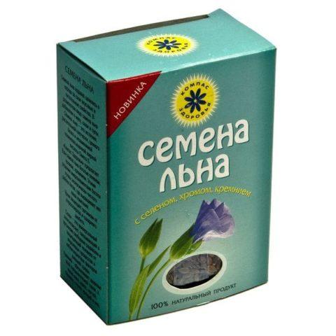 Семена льна можно купить как в аптеке, так и с рук на рынке