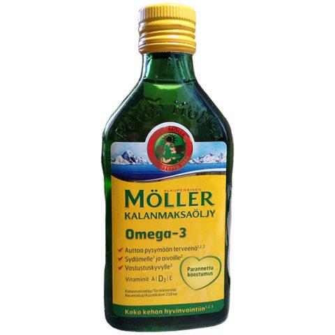Рыбий жир Меллер Омега-3 (Moller Omega-3 250 мл)