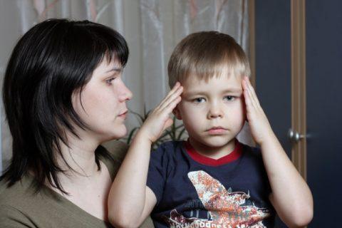 Головная боль при церебральном вазоспазме у ребенка