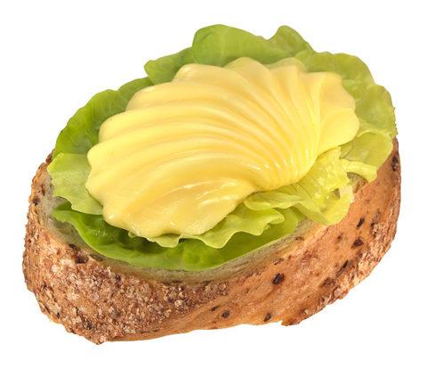 Бутерброд со сливочным маслом
