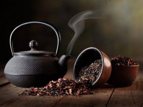 Не пить кофе и черный чай