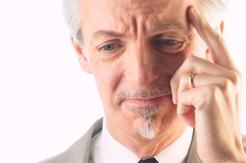Ухудшение мозговой деятельности может говорить о второй стадии склероза ГМ