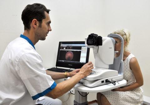 Фоторегистрация глазного дна